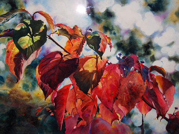 Fall Colors #1 - Watercolor by Shirley Nachtrieb