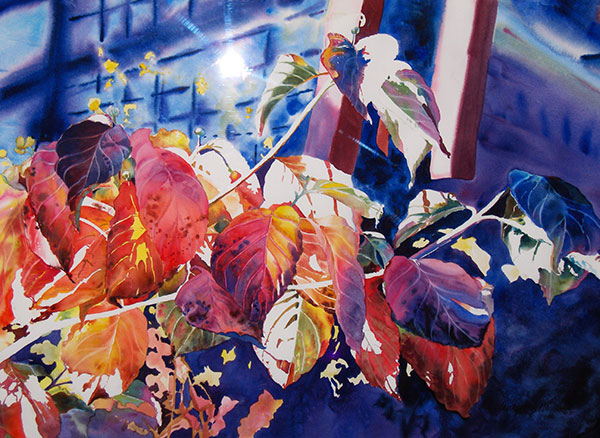 Fall Colors #2 - Watercolor by Shirley Nachtrieb