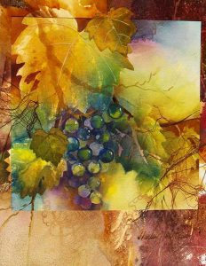 Grapevine Window 1, by Shirley Nachtrieb