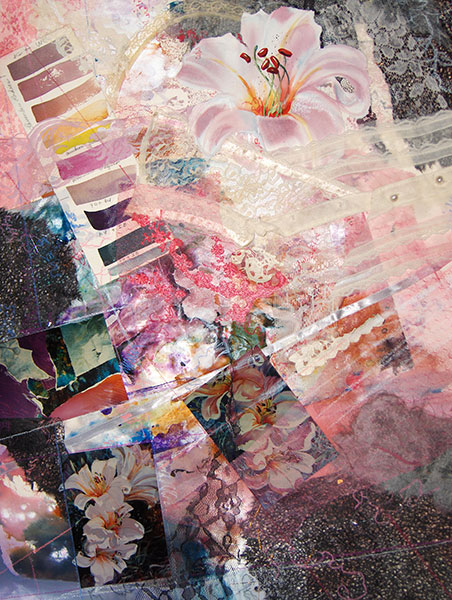 Crossings - Collage by Shirley Nachtrieb