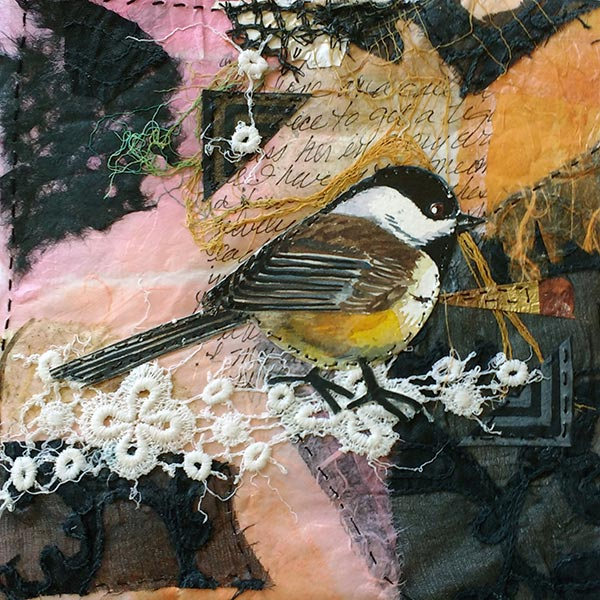 Remnants #3 - Collage by Shirley Nachtrieb