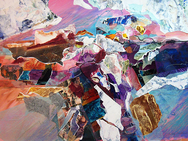 Spectral Springs - Collage by Shirley Nachtrieb