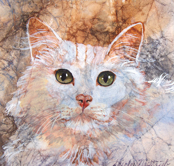 Tiffany - Pet Portrait by Shirley Nachtrieb