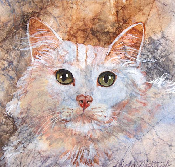 Tiffany - Pet Portrait by Shirley Nachtrieb